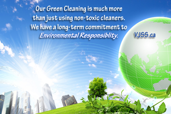 Cleaning Green-Vancouver Janitorial Services